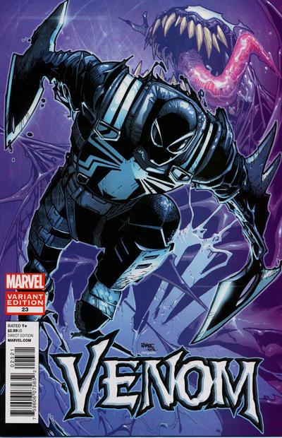 Cover for Venom (Marvel, 2011 series) #23