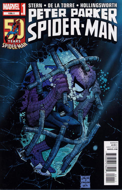 Cover for Peter Parker, Spider-Man (Marvel, 2012 series) #156.1