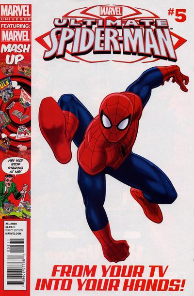 Cover for Marvel Universe Ultimate Spider-Man (Marvel, 2012 series) #5