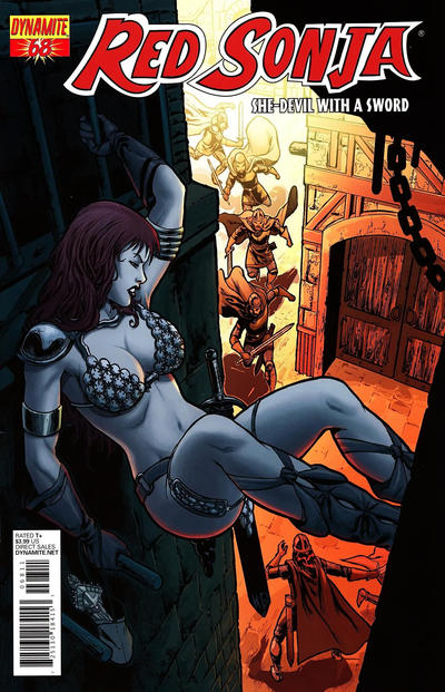 Cover for Red Sonja (Dynamite Entertainment, 2005 series) #68 [Fabiano Neves Regular Cover)]