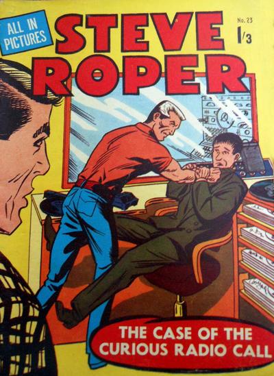 Cover for Steve Roper (Magazine Management, 1959 ? series) #23