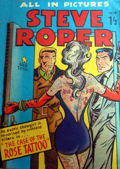 Cover for Steve Roper (Magazine Management, 1959 ? series) #18