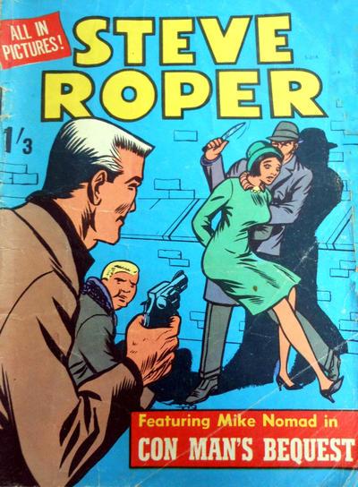 Cover for Steve Roper (Magazine Management, 1965 ? series) #5-014