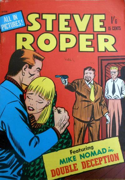 Cover for Steve Roper (Magazine Management, 1966 ? series) #6-038