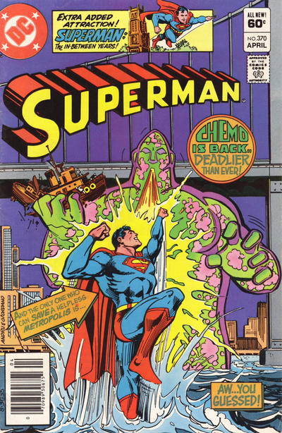 Cover for Superman (DC, 1939 series) #370 [Direct Sales]