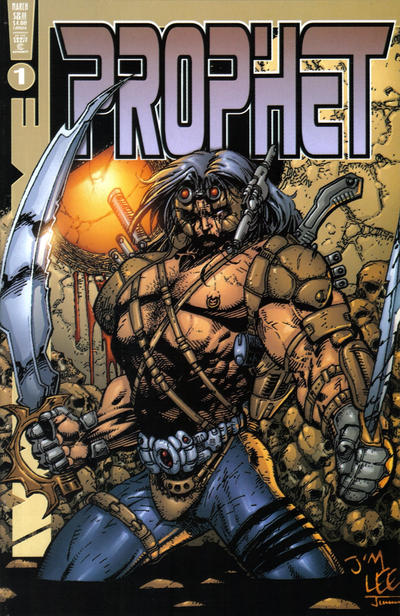 Cover for Prophet (Awesome, 2000 series) #1 [Jim Lee/Walker Brothers Cover]