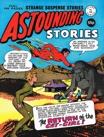 Cover for Astounding Stories (Alan Class, 1966 series) #188