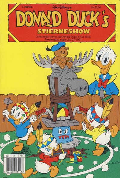 Cover for Donald Duck's Show (Hjemmet, 1957 series) #stjerneshow 1991