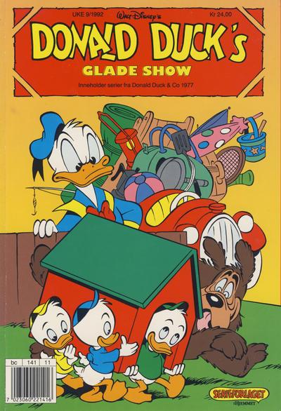 Cover for Donald Duck's Show (Hjemmet, 1957 series) #glade show [1992] [Reutsendelse (2. opplag)]