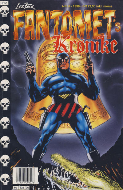 Cover for Fantomets krønike (Semic, 1989 series) #6/1996