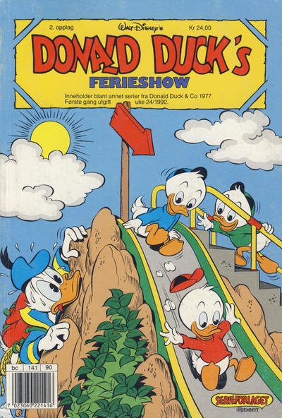 Cover for Donald Duck's Show (Hjemmet, 1957 series) #ferieshow 1992