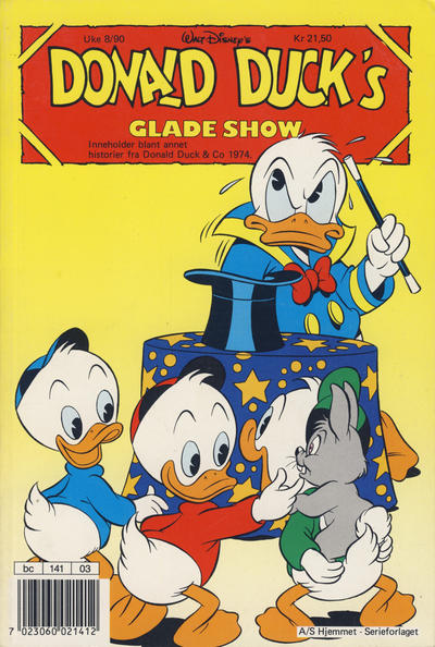 Cover for Donald Duck's Show (Hjemmet, 1957 series) #glade show 1990