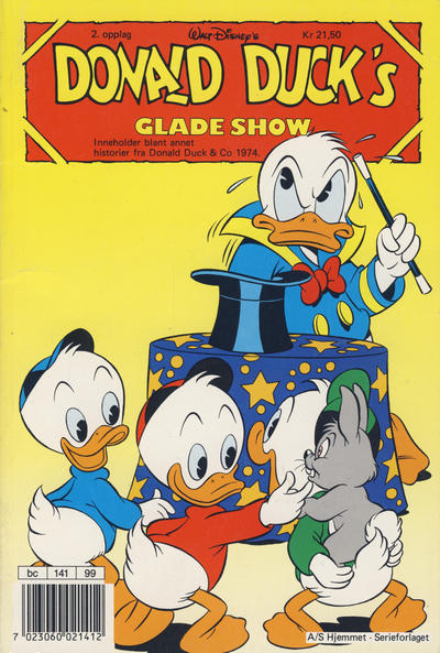 Cover for Donald Ducks Show (Hjemmet / Egmont, 1957 series) #[66] - Glade show 1990