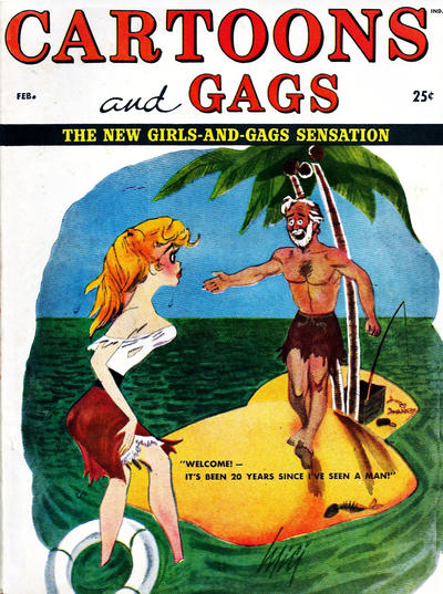 Cover for Cartoons and Gags (Marvel, 1959 series) #v5#1