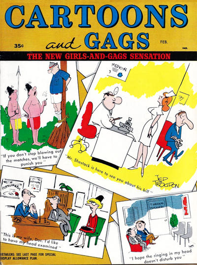 Cover for Cartoons and Gags (Marvel, 1959 series) #v10#1