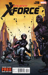 Cover for Uncanny X-Force (Marvel, 2010 series) #28
