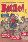 Cover for Battle! (Horwitz, 1954 ? series) #7