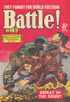 Cover for Battle! (Horwitz, 1954 ? series) #6
