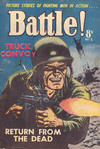 Cover for Battle! (Horwitz, 1954 ? series) #5