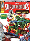 Cover for The Super-Heroes (Marvel UK, 1975 series) #3