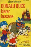 Cover for Donald Pocket (Hjemmet / Egmont, 1968 series) #8 - Donald Duck klarer brasene [1. opplag]