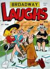 Cover for Broadway Laughs (Prize, 1950 series) #v13#8