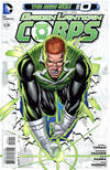 Cover for Green Lantern Corps (DC, 2011 series) #0 [Direct Sales]