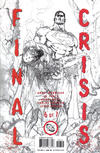 Cover Thumbnail for Final Crisis (2008 series) #6 [Second Printing]