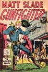 Cover for Matt Slade Gunfighter (Horwitz, 1957 ? series) #4
