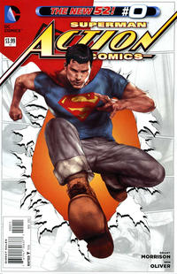 Cover Thumbnail for Action Comics (DC, 2011 series) #0 [Ben Oliver Cover]