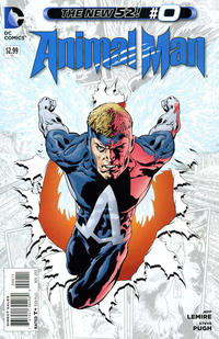 Cover Thumbnail for Animal Man (DC, 2011 series) #0