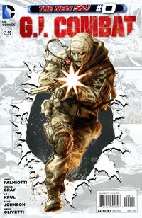 Cover for G.I. Combat (DC, 2012 series) #0