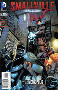 Cover Thumbnail for Smallville Season 11 (DC, 2012 series) #5