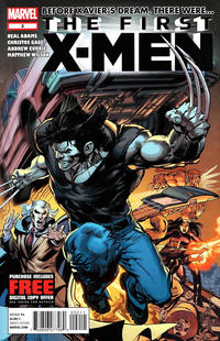 Cover Thumbnail for First X-Men (Marvel, 2012 series) #2