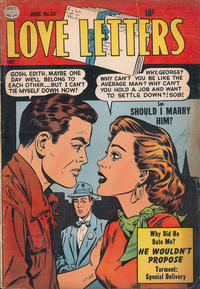 Cover Thumbnail for Love Letters (Quality Comics, 1954 series) #34
