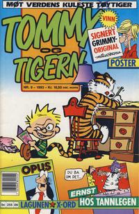 Cover Thumbnail for Tommy og Tigern (Bladkompaniet / Schibsted, 1989 series) #9/1993
