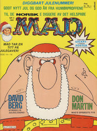 Cover Thumbnail for Norsk Mad (Semic, 1981 series) #4/1981