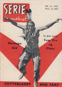 Cover Thumbnail for Seriemagasinet (Serieforlaget / Se-Bladene / Stabenfeldt, 1951 series) #13/1955