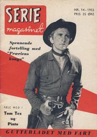 Cover Thumbnail for Seriemagasinet (Serieforlaget / Se-Bladene / Stabenfeldt, 1951 series) #14/1955