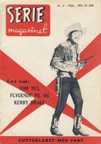 Cover Thumbnail for Seriemagasinet (Serieforlaget / Se-Bladene / Stabenfeldt, 1951 series) #4/1956