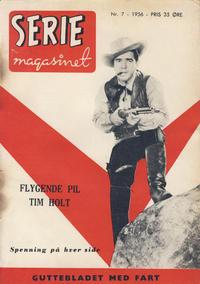 Cover Thumbnail for Seriemagasinet (Serieforlaget / Se-Bladene / Stabenfeldt, 1951 series) #7/1956
