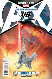 Cover Thumbnail for Avengers vs. X-Men (Marvel, 2012 series) #7 [X-Men Team Variant]