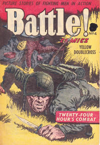 Cover Thumbnail for Battle! Comics (Horwitz, 1953 ? series) #4