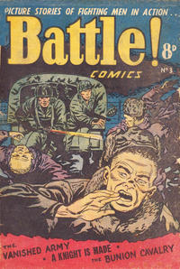 Cover Thumbnail for Battle! Comics (Horwitz, 1953 ? series) #3