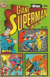 Cover Thumbnail for Giant Superman Album (K. G. Murray, 1963 ? series) #41