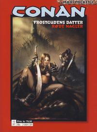 Cover Thumbnail for Conan Maxipocket (Bladkompaniet / Schibsted, 2011 series) #3 - Frostgudens datter