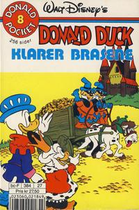 Cover Thumbnail for Donald Pocket (Hjemmet / Egmont, 1968 series) #8 - Donald Duck klarer brasene [3. opplag]