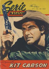 Cover Thumbnail for Seriemagasinet (Serieforlaget / Se-Bladene / Stabenfeldt, 1951 series) #2/1958