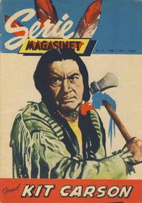 Cover Thumbnail for Seriemagasinet (Serieforlaget / Se-Bladene / Stabenfeldt, 1951 series) #6/1958