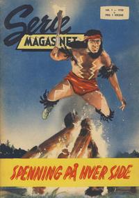 Cover Thumbnail for Seriemagasinet (Serieforlaget / Se-Bladene / Stabenfeldt, 1951 series) #1/1958